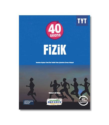 Okyanus Yayınları – TYT 40 Seans Fizik Soru Bankası – Mehmet Ali Özhan