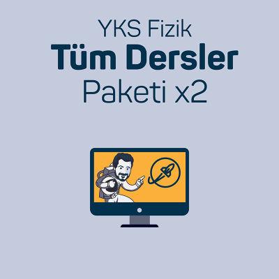 İki Kullanıcı için YKS Fizik Tüm Dersler Paketi
