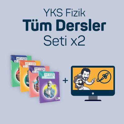 İki Kullanıcı için YKS Fizik Tüm Dersler Seti