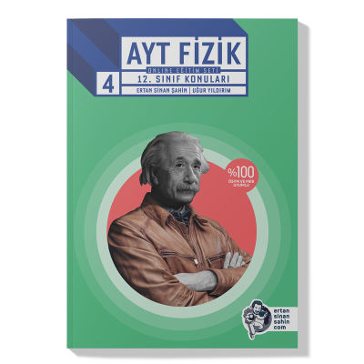 4. Kitap | AYT Fizik – 12. Sınıf Konuları Ders Kitabı